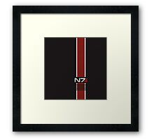 N7 Stripe Framed Print