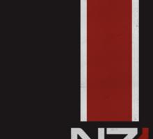 N7 Stripe Sticker