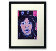 Top  hat   jagger Framed Print