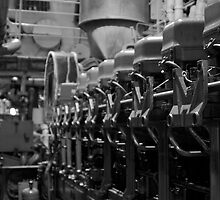 Engine Room 1 by Cliff Worsham
