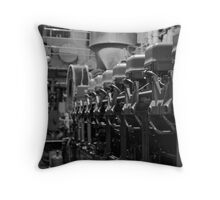 Engine Room 1 Throw Pillow