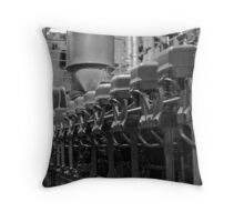 Engine Room 2 Throw Pillow