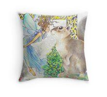 tropical fantasia - bidding farewell Throw Pillow