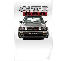 VW Golf GTI G60 Poster