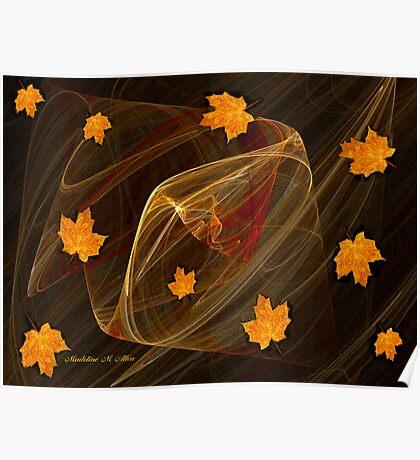 Autumn Twister Poster
