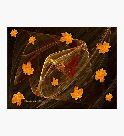 Autumn Twister Photographic Print