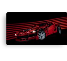 Lego Supercar Canvas Print