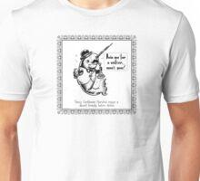 Fancy Gentleman Narwhal Unisex T-Shirt