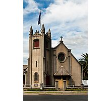0539 St, James Anglican Church - Orbost Photographic Print