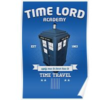 Timelord Academy Poster