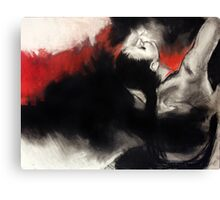dance me to the end of time... Canvas Print