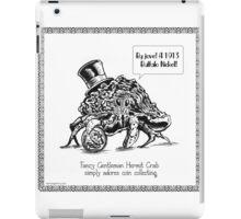 Fancy Gentleman Hermit Crab iPad Case/Skin