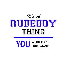 It's a RUDEBOY thing, you wouldn't understand !! by thestarmaker
