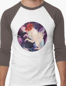Halloween dog Men's Baseball ¾ T-Shirt