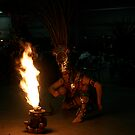 Aztec Fire Dancer by Kate Purdy
