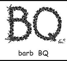 barb BQ by kev howlett