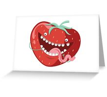 Strawberry Bros Greeting Card