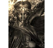 Angel in love Photographic Print
