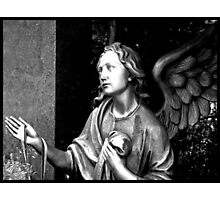 May an angel guard your way Photographic Print