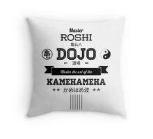 Master Roshi Dojo v2 Throw Pillow