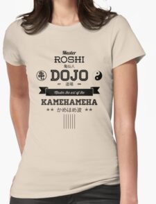 Master Roshi Dojo v2 Womens Fitted T-Shirt