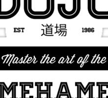 Master Roshi Dojo v2 Sticker