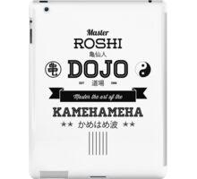Master Roshi Dojo v2 iPad Case/Skin