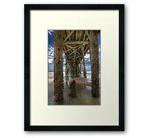 Pier Pressure Framed Print