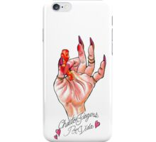 Hot Cheeto Fingers Por Vida  iPhone Case/Skin