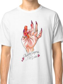 Hot Cheeto Fingers Por Vida  Classic T-Shirt