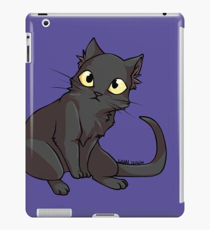 Sketch the Black Cat iPad Case/Skin