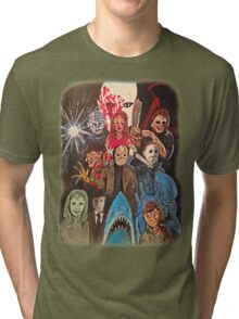 70s/80s Horror Tri-blend T-Shirt