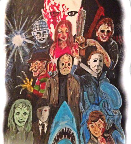 70s/80s Horror Sticker