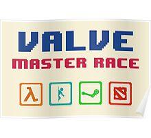 VALVE master race Poster