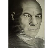 picard from star trek Photographic Print