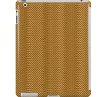 Gold Knitted Pattern ) iPad Case/Skin