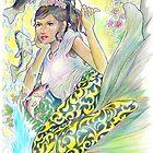 tropical fantasia -mermaid conductor by John R.P. Nyaid