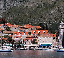 Cavtat, Croatia by Geoffrey Grinton