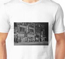 A seedy city night scene Unisex T-Shirt