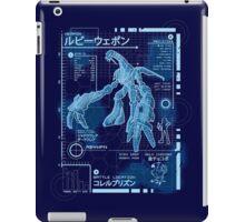 Ruby Blueprint iPad Case/Skin