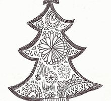 xmas zentangle by wowords-ig