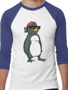 Cool Penguin Men's Baseball ¾ T-Shirt