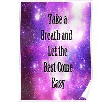 Dear Maria Galaxy print Poster