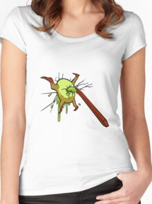 I kill crabs Women's Fitted Scoop T-Shirt