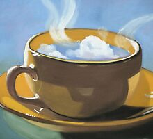 Coffee clouds by ria hills