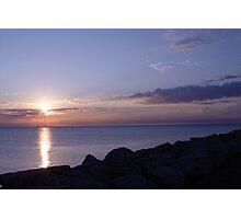 Lake Michigan Sunrise Photographic Print