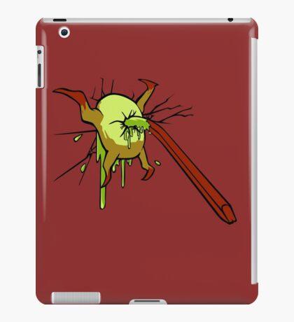 I kill crabs iPad Case/Skin