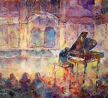 Piano Recital - Classical Pianist In Concert by Ballet Dance-Artist