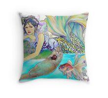 tropical fantasia - interlude Throw Pillow