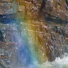 Rainbow on Stone by Julié Pearce